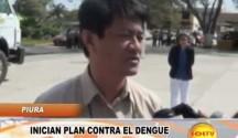 Piura: Dirección Regional de Salud inicia plan contra el dengue
