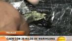 Trujillo: Caen con 28 kilos de marihuana