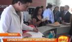 Corte Superior de Justicia La Libertad organiza feria donde se expone libros y documentos antiguos