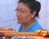 Evaluación de ascensos sin incidencias en Piura