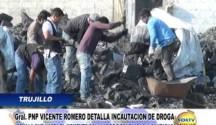 Jefe Antidrogas dio detalles  de la incautación de droga en el distrito de Huanchaco