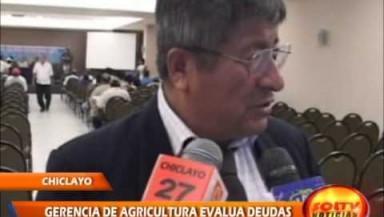 La Gerencia Regional de Agricultura de Lambayeque evaluó situación de empresas de caña de azúcar