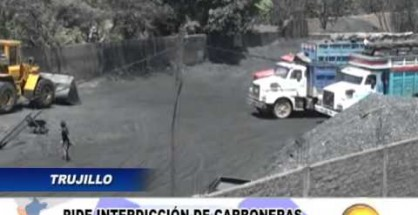 Trujillo: Alcalde de Huanchaco pidió al gobierno central la interdicción de las carboneras