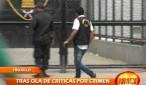 Agentes del INPE encargados de la seguridad del Penal El Milagro guardan silencio sobre el crimen que ocurrió