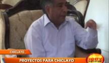 Alcalde Electo de Chiclayo dio a conocer sus Proyectos Sociales