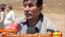 Bus de la Empresa de Transportes Rodríguez se despistó causando dos muertos