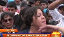 Continúan las protestas de los Trabajadores Municipales exigiendo sus pagos atrasados