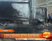 """""""Fuerza Regional"""" habría estado detrás de los disturbios declaró Regidor"""