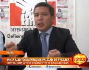 La Contraloría inmovilizó 2500 archivadores para iniciar una auditoria en Ayabaca