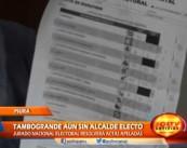 Presidente del Jurado de Piura informa que no está definido los resultados en el distrito de Tambo Grande