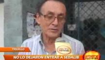 Los Trabajadores de SEDALIB echaron de la empresa al expresidente del directorio Mario Reyna