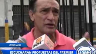 El congresista Héctor Becerril anunció que escucharán las propuestas del Premier