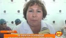 Pobladores de Pataz aseguran que hasta el momento el Gobierno Regional no les brinda el apoyo