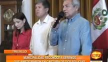Agentes de Seguridad Ciudadana fueron reconocidos por la Municipalidad Provincial de Trujillo