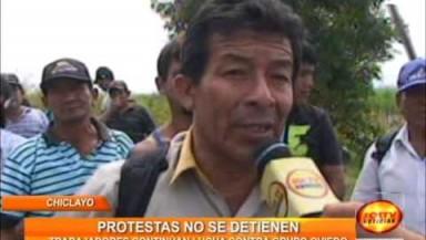 En Tuman las protestas no se detienen