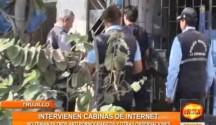 Se intervinieron Cabinas de Internet en la Esperanza