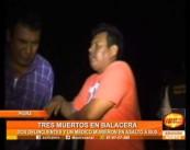 Tres muertos en Balacera en un Bus Interprovincial