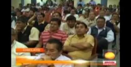 Chiclayo: Alcalde se reúne con huelguistas