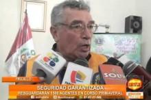 Trujillo: 1 500 agente de seguridad resguardaran el Corso Primaveral