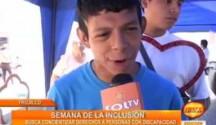 Trujillo: Feria por la semana de la Inclusión