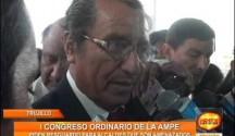 Trujillo: Primer Congreso Ordinario de la AMPE