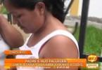 Chiclayo: accidente de tránsito deja a padre e hijo sin vida