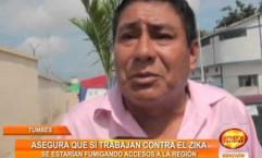 Tumbes: el director de turismo asegura que se está trabajando contra el Zika