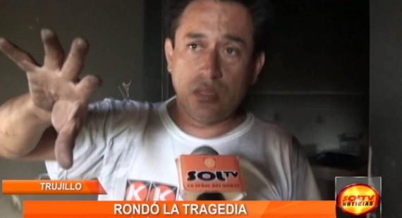 Trujillo: Incendio generó pánico en Urb. Santo Dominguito