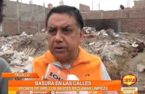 Trujillo: Vecinos de Los Sauces hartos de basura, exigen limpieza